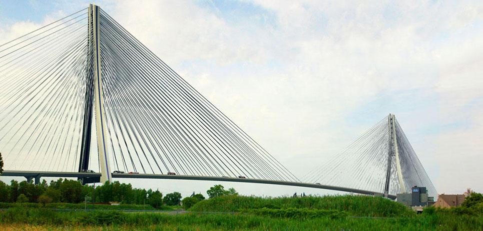 construction news - 5 boom cities 2018 - gordie howe bridge - windsor detroit bridge authority